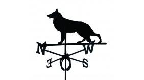 Wetterfahne Hund