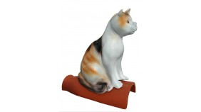 Diller Firstschmuck Katze