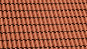 Kronen-Pfanne Dachansicht